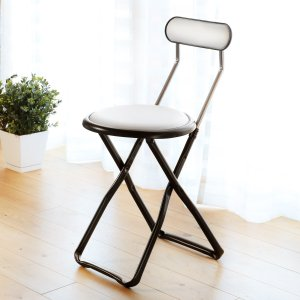 折りたたみ椅子 キャプテンチェア ホワイト ( 折りたたみチェア 椅子 チェア )|interior-palette