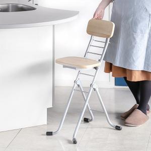折りたたみ椅子 リリィチェア 6段階調節 ナチュラル ( チェア イス )|interior-palette