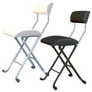 折りたたみチェア レーシーチェア 標準タイプ 座面高49cm ( 椅子 パソコンチェア )|interior-palette
