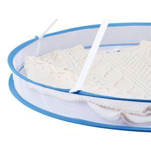 【週末限定クーポン】折りたたみ式 平干しネット 2段 平干し ネット 洗濯ハンガー 物干しネット ( 物干しネット 洗濯用品 洗濯グッズ )|interior-palette|04