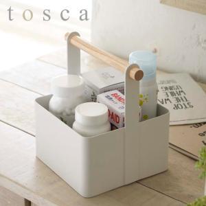 小物収納ボックス ツールボックス トスカ tosca Sサイズ スチール製 ( 収納ケース 小物入れ 小物ケース 薬ケース 山崎実業 )|interior-palette