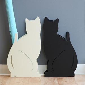 傘立て かさたて ネコ ねこ シルエット 省スペース ( アンブレラスタンド 傘たて かさ立て )|interior-palette