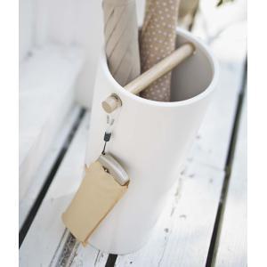 傘立て 陶器傘立て コモ スリム ホワイト ( 傘 スタンド 玄関 収納 )|interior-palette|13