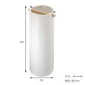 傘立て 陶器傘立て コモ スリム ホワイト ( 傘 スタンド 玄関 収納 )|interior-palette|03