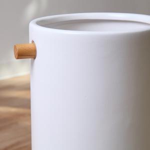 傘立て 陶器傘立て コモ スリム ホワイト ( 傘 スタンド 玄関 収納 )|interior-palette|05