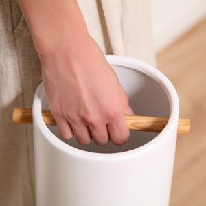 傘立て 陶器傘立て コモ スリム ホワイト ( 傘 スタンド 玄関 収納 )|interior-palette|09