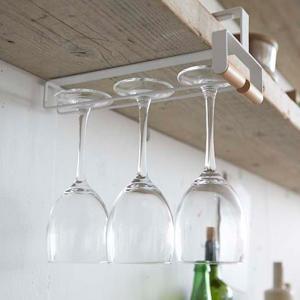 グラスハンガー戸棚下ワイングラスハンガートスカtosca木製 ( グラス掛け グラスホルダー グラスラック )|interior-palette|03