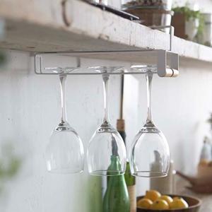 グラスハンガー戸棚下ワイングラスハンガートスカtosca木製 ( グラス掛け グラスホルダー グラスラック )|interior-palette|04