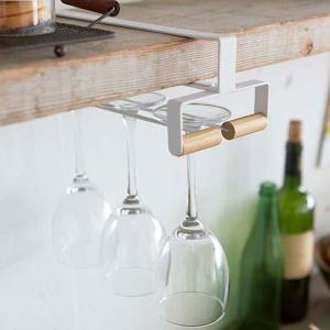 グラスハンガー戸棚下ワイングラスハンガートスカtosca木製 ( グラス掛け グラスホルダー グラスラック )|interior-palette|05