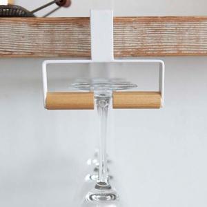 グラスハンガー戸棚下ワイングラスハンガートスカtosca木製 ( グラス掛け グラスホルダー グラスラック )|interior-palette|06
