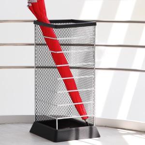 傘立て Xチェンジ 角型 アンブレラスタンド ブラック ( 傘 スタンド 玄関 収納 )|interior-palette