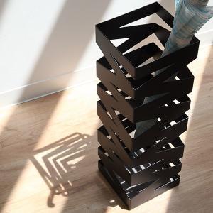 傘立て 傘たて 傘立 ロック ブラック(アンブレラスタンド 山崎実業 )|interior-palette