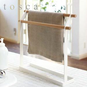 布巾ハンガー ふきん掛け トスカ tosca 木製 ( 布巾掛け タオルハンガー キッチン収納 山崎実業 )|interior-palette
