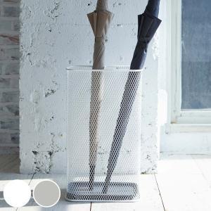 傘立て スリムメッシュ 仕切り付き アンブレラスタンド ( 傘 スタンド 玄関 収納 )|interior-palette