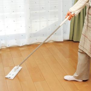 フローリングワイパー 激落ちワイパー ジョイント式 コンパクト 立体クッション ( 激落ちくん フローリング ワイパー モップ 拭き掃除 フロアワイパー )|interior-palette