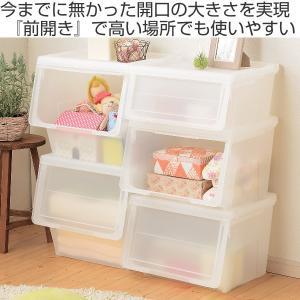 【週末限定クーポン】収納ボックス 前開き KABAKO 幅30×奥行42×高さ31cm カバコ スリム M ( 収納ケース 収納 おもちゃ箱 プラスチック )|interior-palette|02