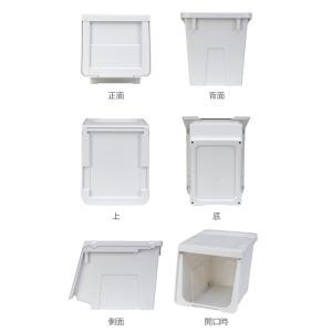 【週末限定クーポン】収納ボックス 前開き KABAKO 幅30×奥行42×高さ31cm カバコ スリム M ( 収納ケース 収納 おもちゃ箱 プラスチック )|interior-palette|03