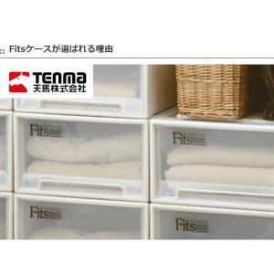 収納ケース Fits フィッツ フィッツケース ロング 引き出し プラスチック 同色4個セット ( 収納 収納ボックス 衣装ケース ホワイト 押入れ収納 引出し )|interior-palette|04