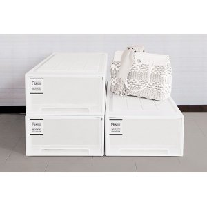 収納ケース Fits フィッツ フィッツケース ロング 引き出し プラスチック 同色4個セット ( 収納 収納ボックス 衣装ケース ホワイト 押入れ収納 引出し )|interior-palette|05