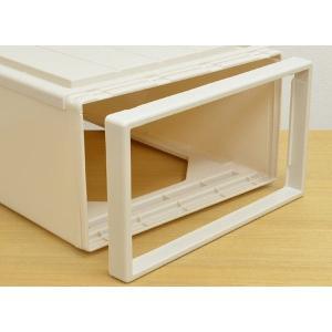 収納ケース Fits フィッツ フィッツケース ロング 引き出し プラスチック 同色4個セット ( 収納 収納ボックス 衣装ケース ホワイト 押入れ収納 引出し )|interior-palette|09