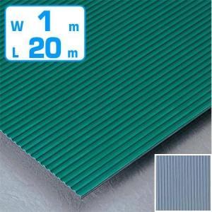 すべり止め ゴムマット 筋入り 業務用 3mm厚 1m幅×20m ( ノンスリップ ゴムシート 床 )
