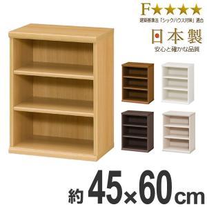 本棚 ブックシェルフ エースラック カラーラック 約幅45cm 高さ60cm ( オープンラック フリーラック ラック 収納棚 棚 カラーボックス )|interior-palette