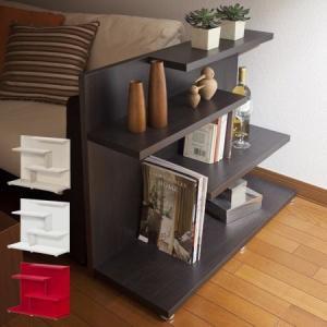 ディスプレイラック 収納棚 コームシェルフ ロータイプ 高さ70cm ( 本棚 オープンラック )|interior-palette