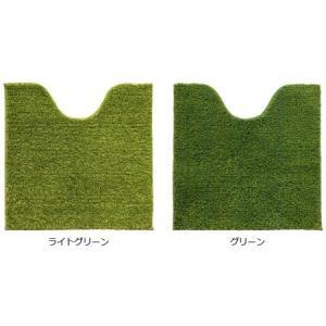 SHIBAFU トイレマット 60×60cm 芝生 ( トイレ用品 トイレタリー )|interior-palette|02