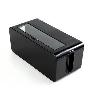 ケーブルボックス タップ 長さ25cm 対応 タップ収納 コード 収納 収納ボックス ( ケーブル収納 タップボックス コード収納 プラスチック おしゃれ 日本製 )|interior-palette|12