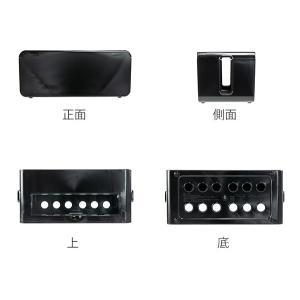 ケーブルボックス タップ 長さ25cm 対応 タップ収納 コード 収納 収納ボックス ( ケーブル収納 タップボックス コード収納 プラスチック おしゃれ 日本製 )|interior-palette|03
