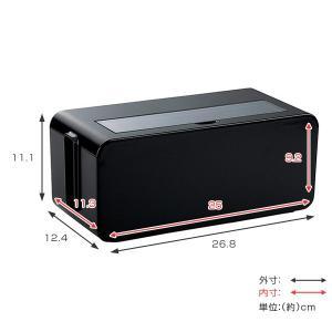 ケーブルボックス タップ 長さ25cm 対応 タップ収納 コード 収納 収納ボックス ( ケーブル収納 タップボックス コード収納 プラスチック おしゃれ 日本製 )|interior-palette|05
