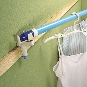 ハンガーフック かもいフレンド 竿用 2個組 室内干し用|interior-palette