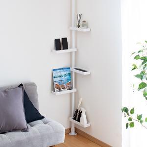 つっぱり式スリムラック ( 洗面所収納 傘立て 突っ張り すき間収納 )|interior-palette