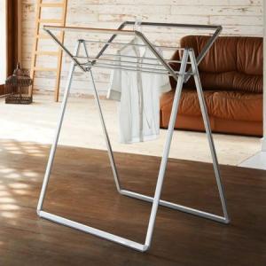 ランドリースタンド ippin スクエアスタイル 洗濯物干し 折りたたみ ( 物干しスタンド 室内物干し 物干しハンガー )|interior-palette