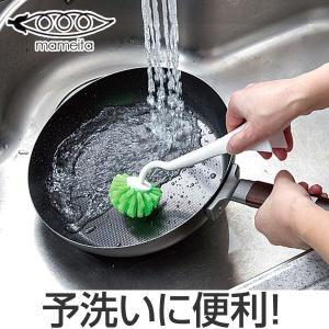 キッチンブラシ PRO 立つ鍋・フライパン用 立つハンドル ...