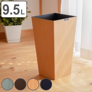 ゴミ箱 木目調 木製風  L 角 ウッドグレイン 小さい 小型 小さめ コンパクト 小さい 部屋用 ( 屑入れ くずかご ダストボックス おしゃれ ) interior-palette