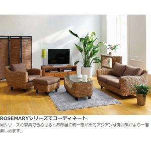 【週末限定クーポン】ローテーブル ローズマリー ウォーターヒヤシンス製 ( アジアン家具 ホテイアオイ )|interior-palette|05