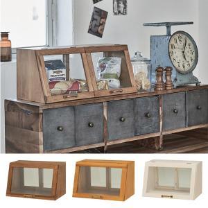 ガラスケース アンティーク調 ショーケース 幅40cm ( ディスプレイケース コレクションケース ディスプレイラック コレクションボード ) interior-palette