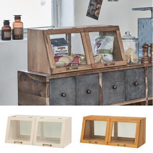 ガラスケース アンティーク調 ショーケース 幅60cm ( ディスプレイケース コレクションケース ディスプレイラック コレクションボード )|interior-palette