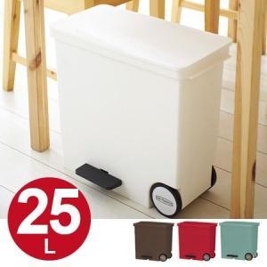 分別ゴミ箱 ダストボックス 横型 ペダルペール オルア ora ミニ ( ごみ箱 分別 キッチン )|interior-palette