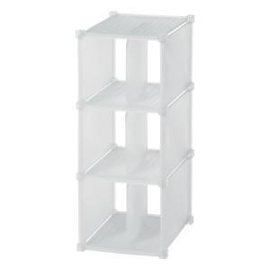シューズラック 収納ボックス シューグリッド3BOX ( 靴収納 ブーツ収納 クローゼット収納 )|interior-palette