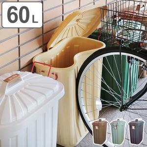 ゴミ箱 屋外 ふた付き PALE×PAIL ペールペール ダストビン 60L 大容量 ( ごみ箱 キッチン 60 リットル ダストボックス )|interior-palette