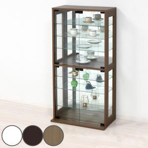 コレクションケース 幅60cm ( フィギュア ガラス コレクションラック コレクション 棚 )|interior-palette