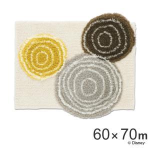 玄関マット スミノエ ミッキー ディズニー リングマット 60×70cm ベ−ジュ ( 室内 エントランスマット )|interior-palette