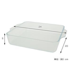 【週末限定クーポン】セラベイク 耐熱ガラス スクエアロースター M ( Cera Bake セラミック加工 オーブン ガラス容器 耐熱皿 )|interior-palette|03