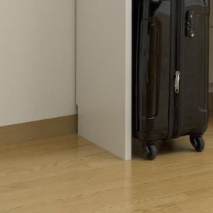 壁面収納 ハンガーラック 棚付 ポルターレクローク 幅60cm ( 収納ラック コートハンガー オープンラック 整理棚 クローゼット 突っ張り )|interior-palette|05