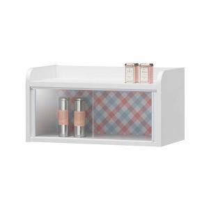 ミニカップボード 壁掛け対応 (Preche)プリチェ 幅58cm ( 食器棚 収納 ラック )|interior-palette