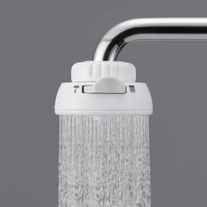 自在水栓・泡抹水栓用のシャワー蛇口です。ハンドルを動かすとシャワーとストレートの切替ができます。節水...