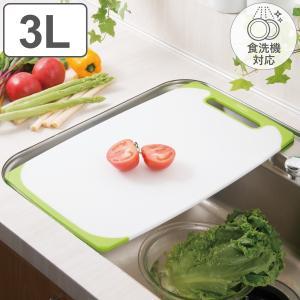 まな板 耐熱抗菌まな板 シンクサイズ LLL プラスチック ラバー付き 食洗機対応 ( プラスチック製 抗菌まな板 カッティングボード おすすめ )|interior-palette