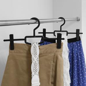 【週末限定クーポン】ハンガー スカート用 シンコハンガー F-FIT クリップバー ( スカート スラックス ボトムハンガー )|interior-palette